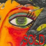 Raven-haired Girl - SOLD